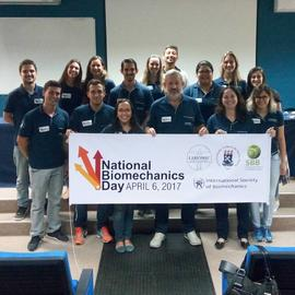 National Biomechanics Day no CTISM