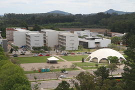 Vista aérea do Campus UFSM